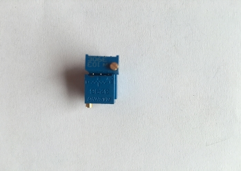 顶调电位器